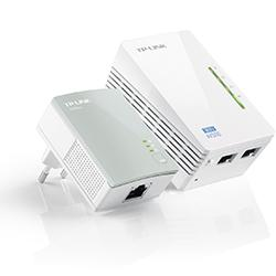 Extensor Powerline Wi-Fi 300Mbps AV500 Kit de Inicio